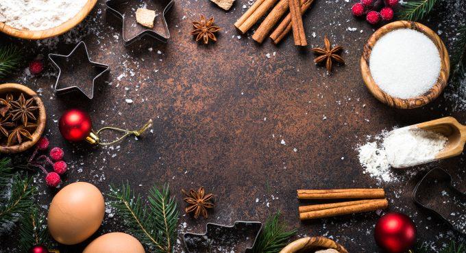 Christmas Menu hog roast