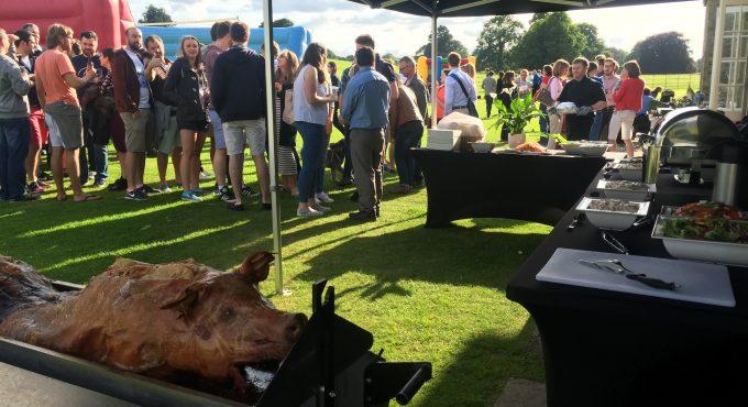 hog roast for UK weddings